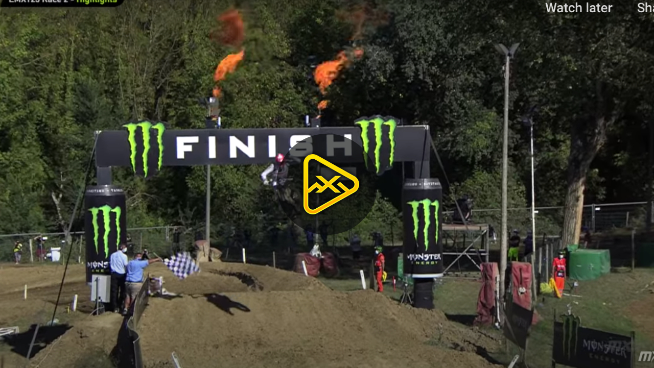 EMX125 Highlights from 2020 MXGP of Italy