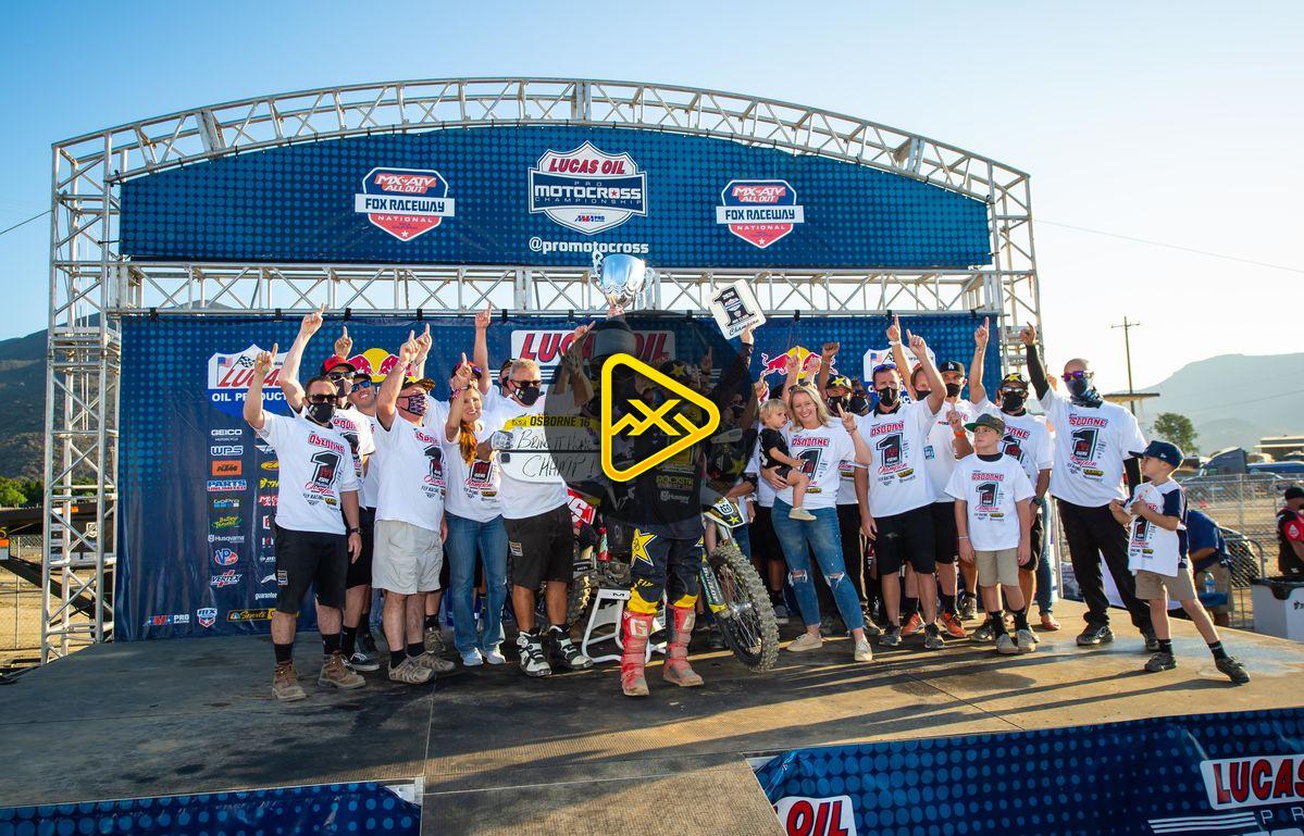 450 Press Conference – Fox Raceway Finale