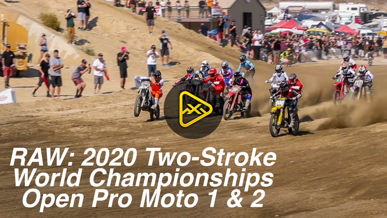 RAW: 2020 2-Stroke World Championships – Open Pro Moto 1 & 2