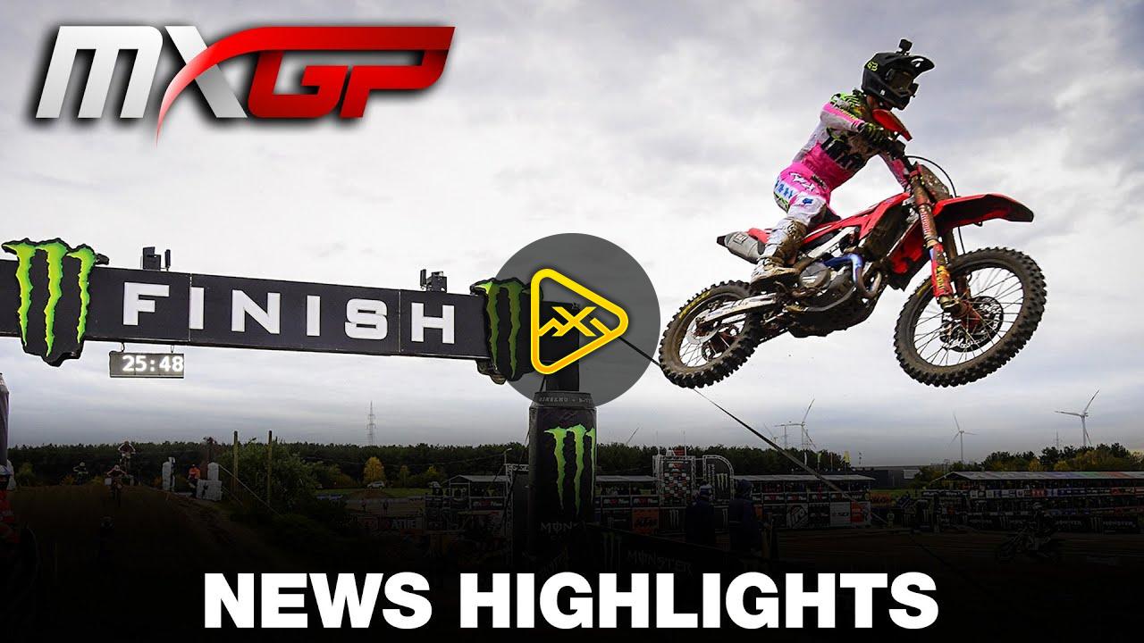 Highlights: MXGP of Lommel (Lommel III)