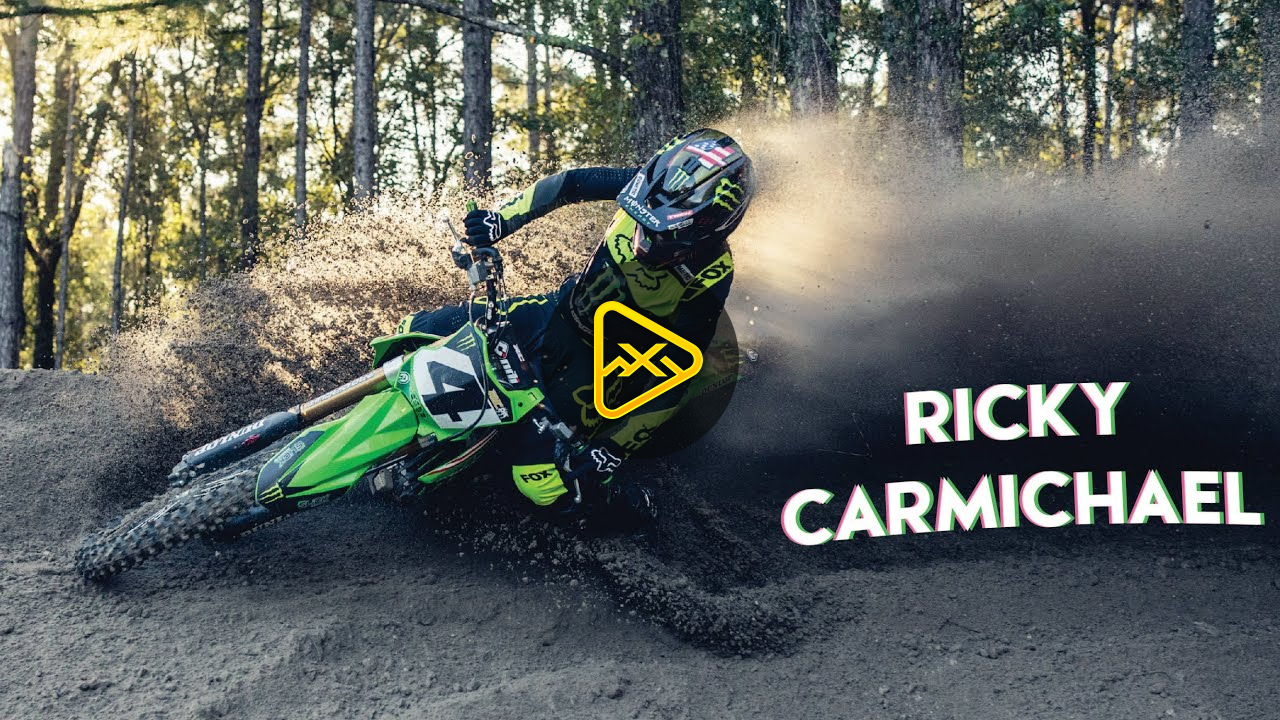 Ricky Carmichael Off the Couch & New Color Bike