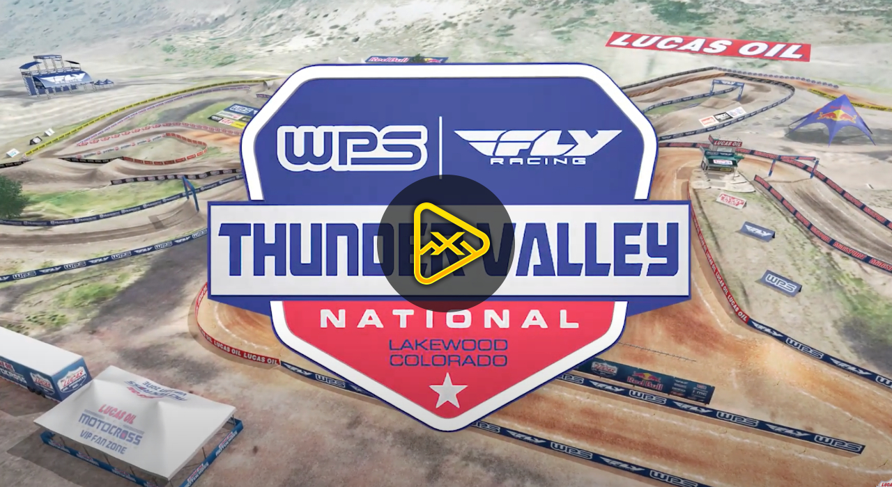 2020 Thunder Valley National Animated Track Map