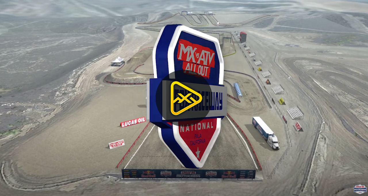 Animated Track Map for 2020 Fox Raceway National