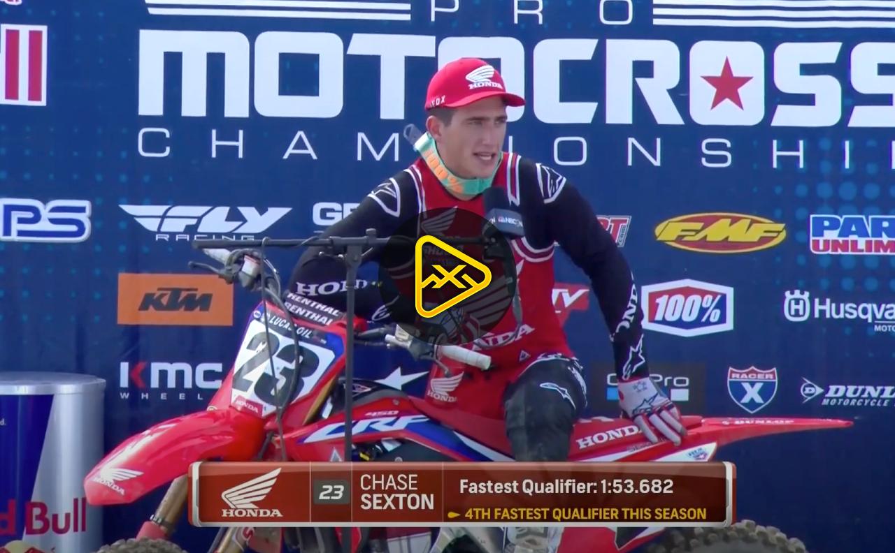 Sexton & Cooper Interviews: Fastest Qualifiers at Fox Raceway Finale