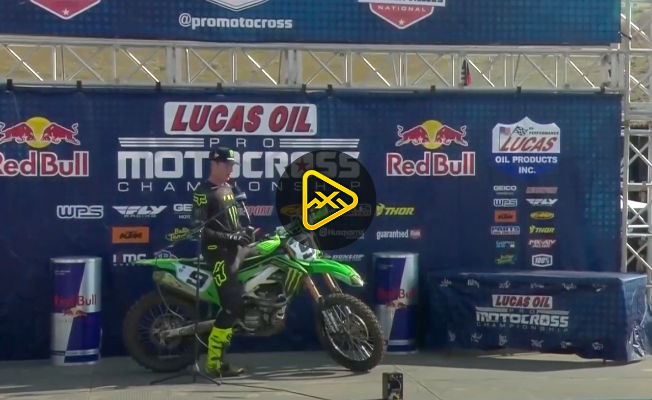 Cianciarulo & Cooper Interviews – Fastest Qualifiers Thunder Valley