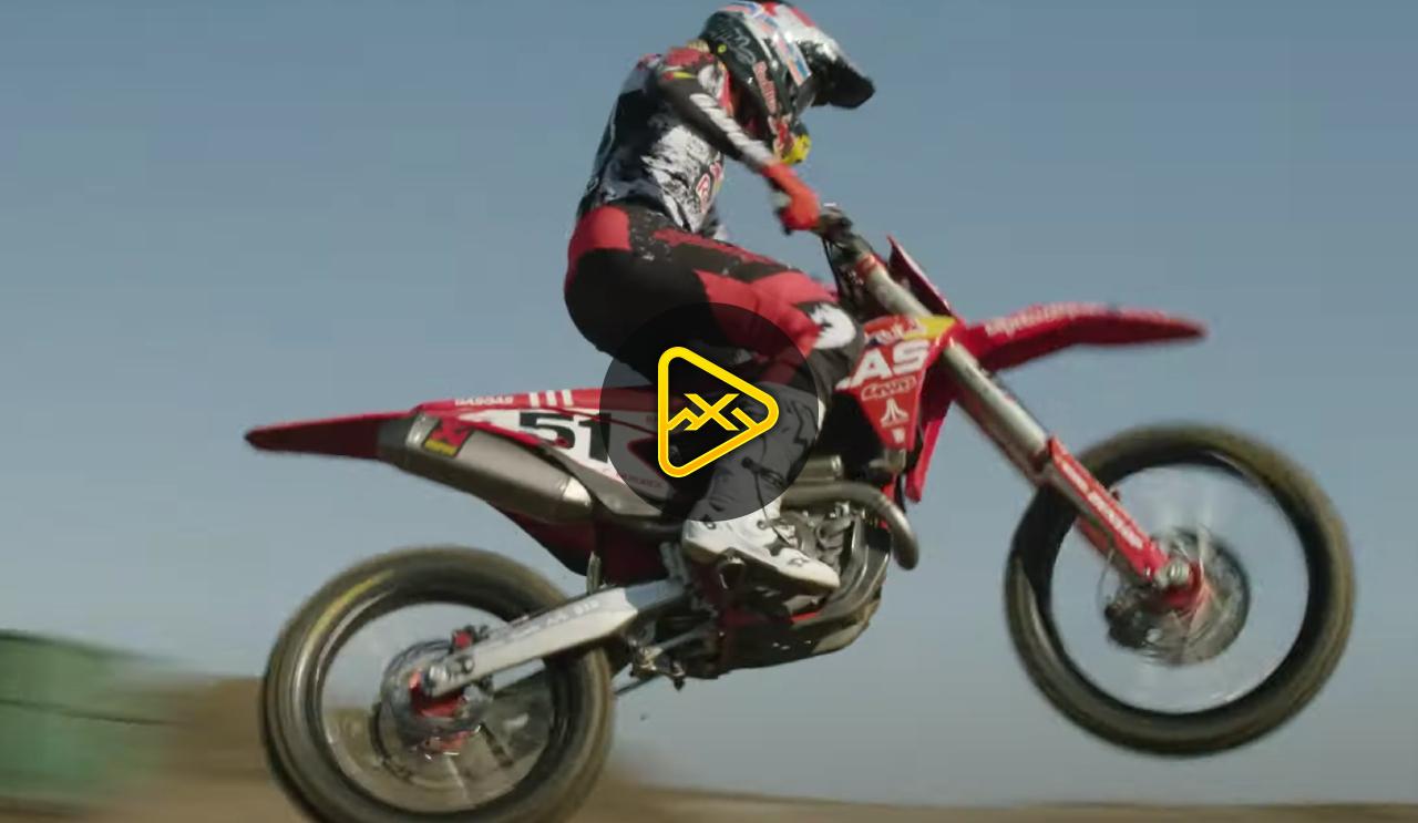 Justin Barcia Rides his New #51 GasGas
