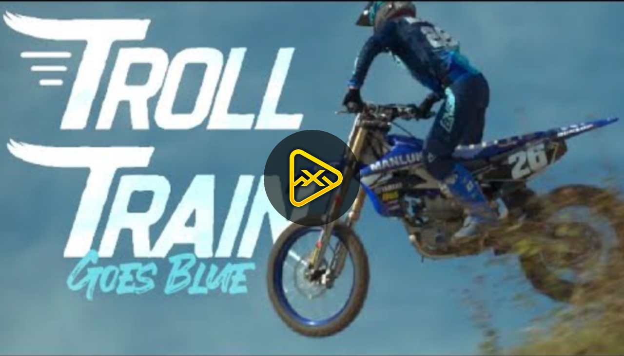 Troll Train [Alex Martin] Goes Blue
