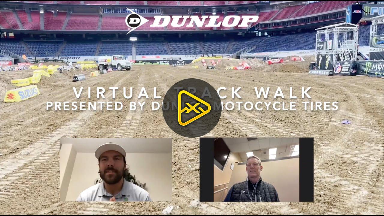 2021 Houston 1 Supercross Virtual Track Walk