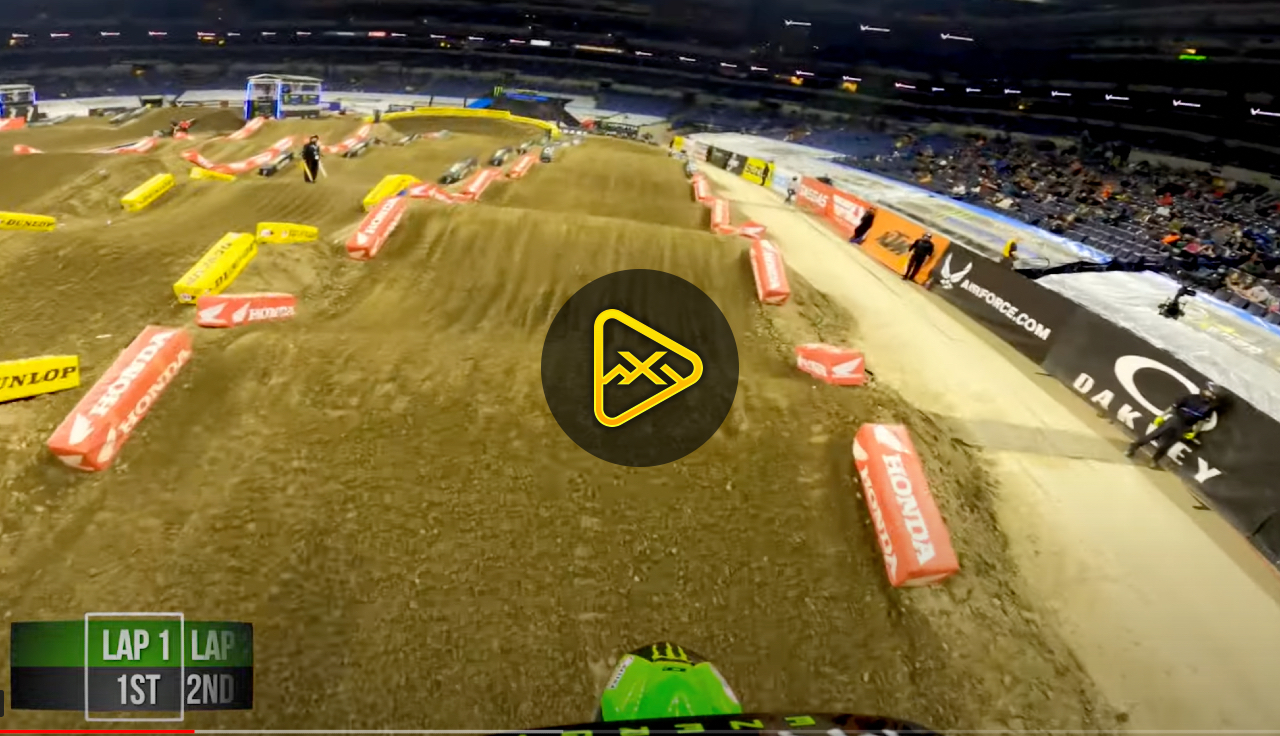 GoPro: Adam Cianciarulo Highlights from 450 Heat 1