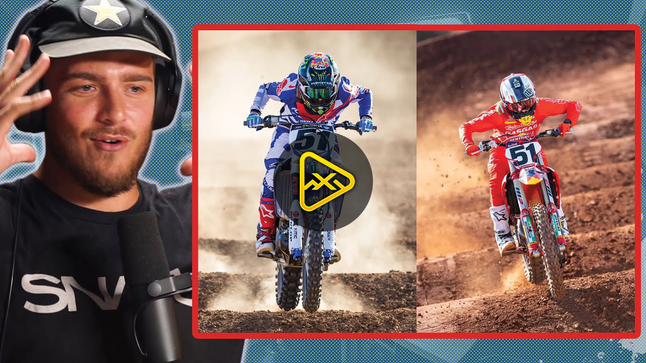 "Gas Gas vs. Yamaha – Justin Barcia test track footage – ""The difference is Insane"""