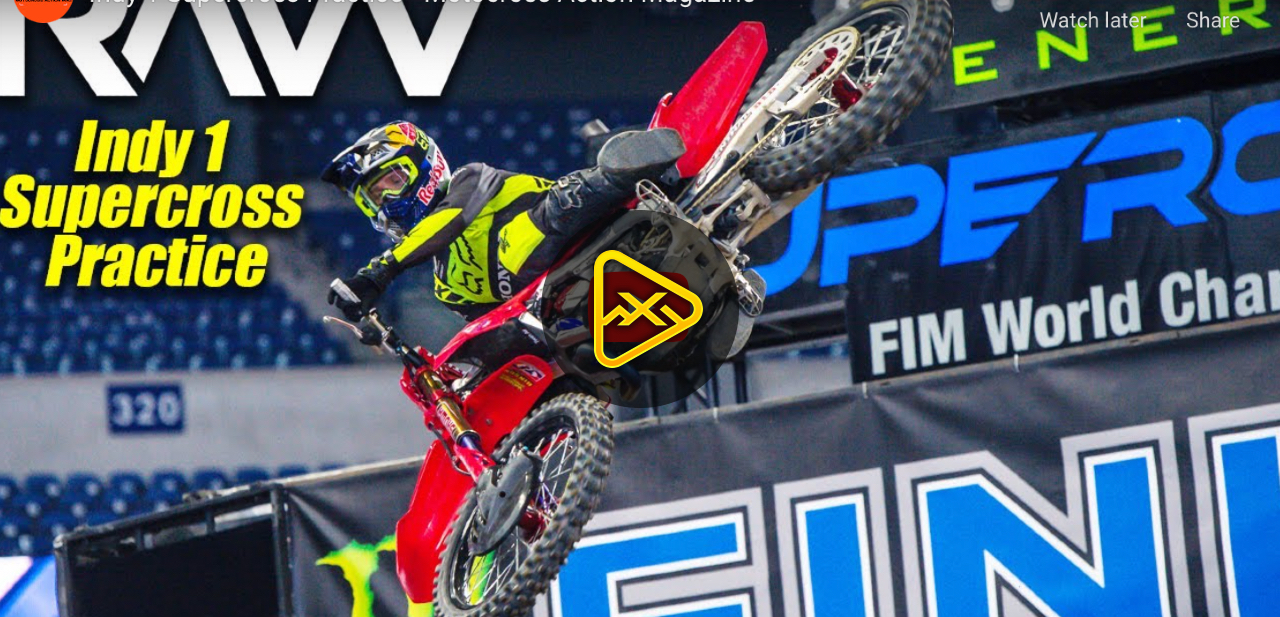 Indianapolis 1 SX  Press Day Practice