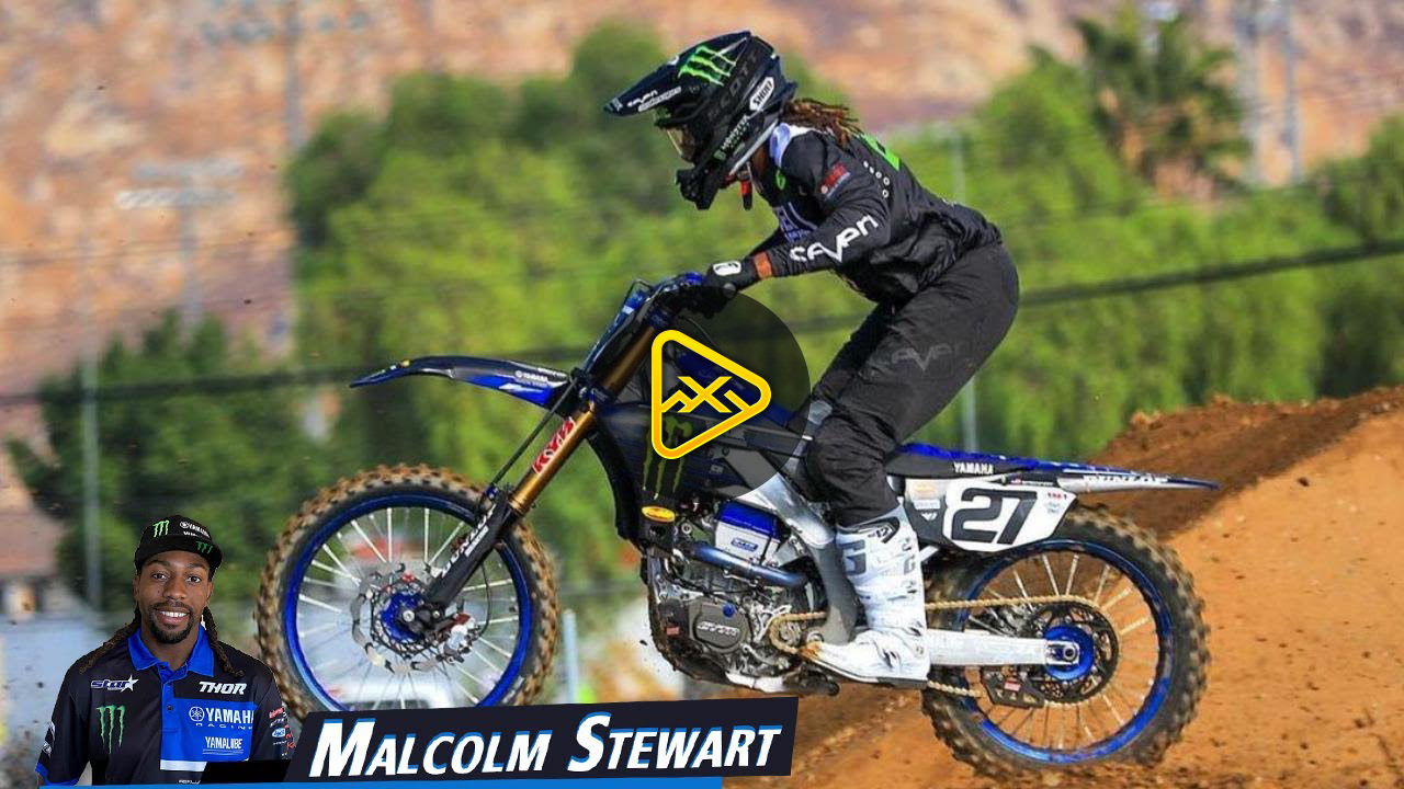 Malcolm Stewart Training for 2021 Supercross – YZ 450F