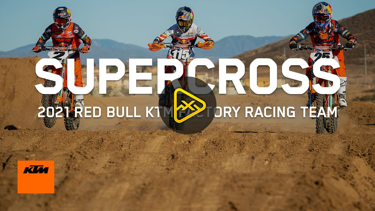 Red Bull KTM 2021 SX team Intro Video