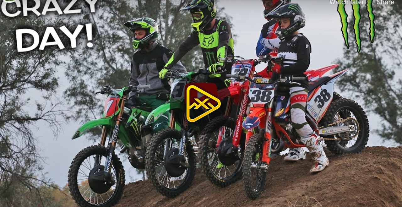 Tomac, Sexton, AC, AP and More at Deegan's House