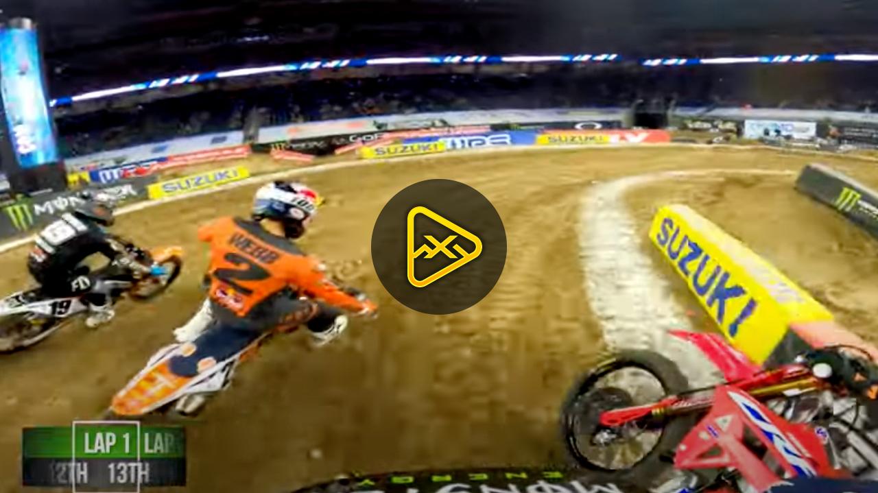 GoPro: Adam Cianciarulo Houston 3 SX Main Event