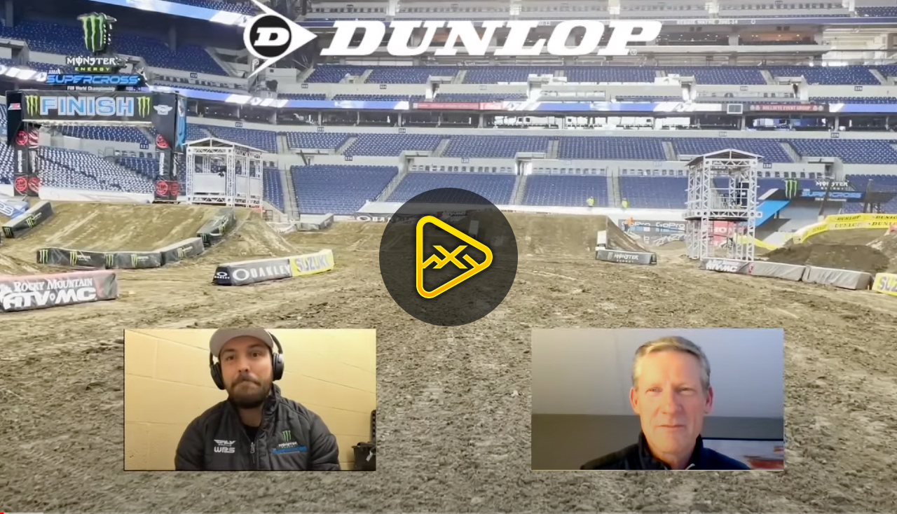 2021 Indianapolis 1 SX Virtual Track Walk