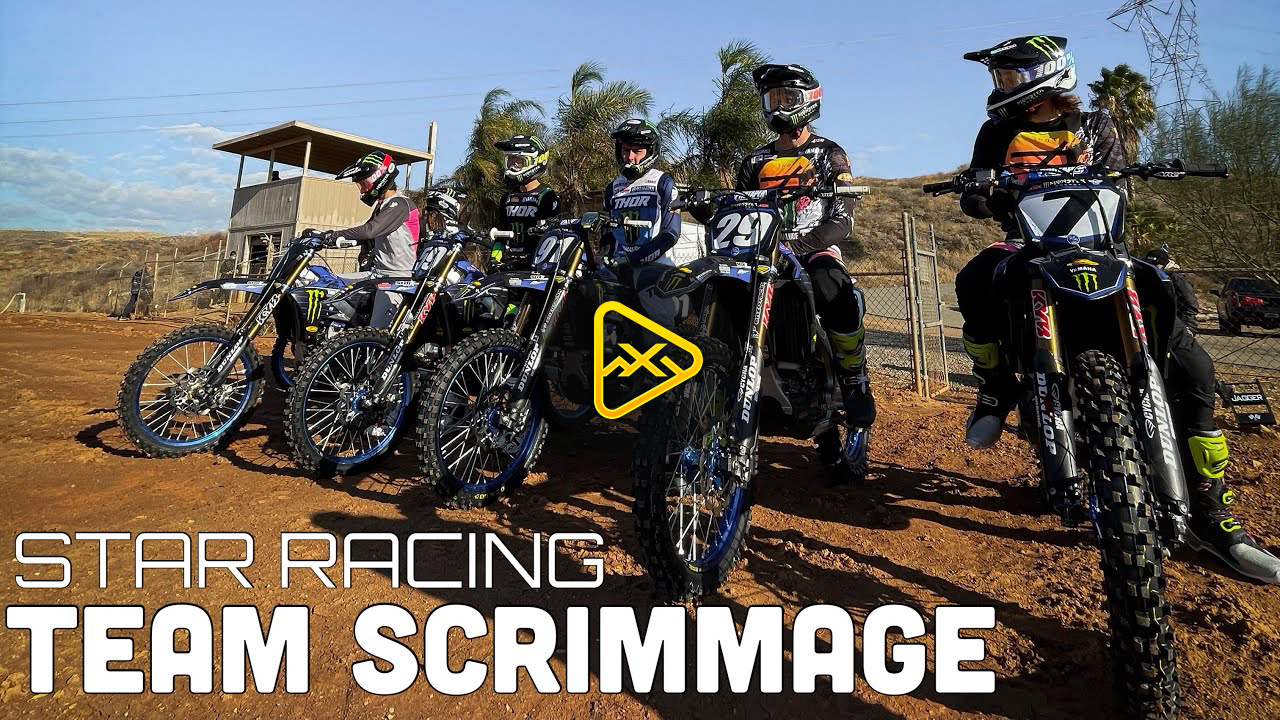 Star Racing Yamaha SX Team Scrimmage with Christian Craig