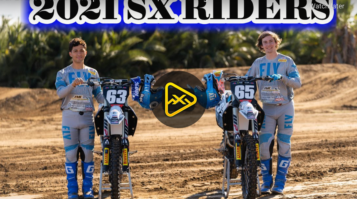 JMC Racing 2021 SX with Castello and Brown