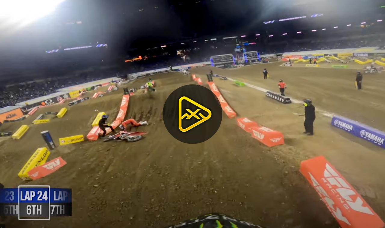 GoPro: Malcolm Stewart – Main at Indianapolis 3 SX