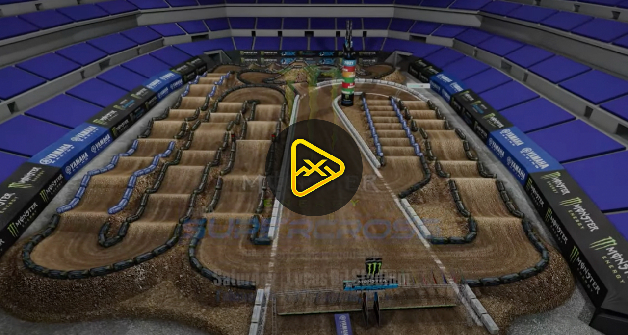 Animated Track Map – Rd 6 – 2021 Indianapolis 3 SX