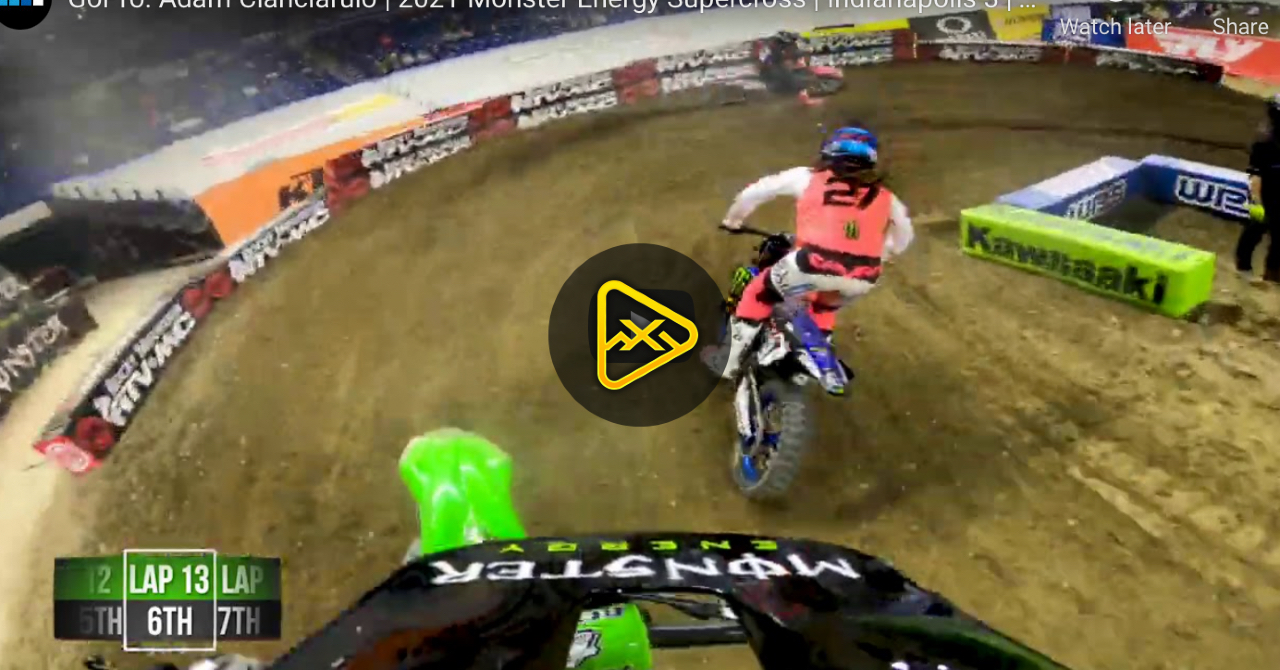 GoPro: Adam Cianciarulo  – Main at Indianapolis 3 SX