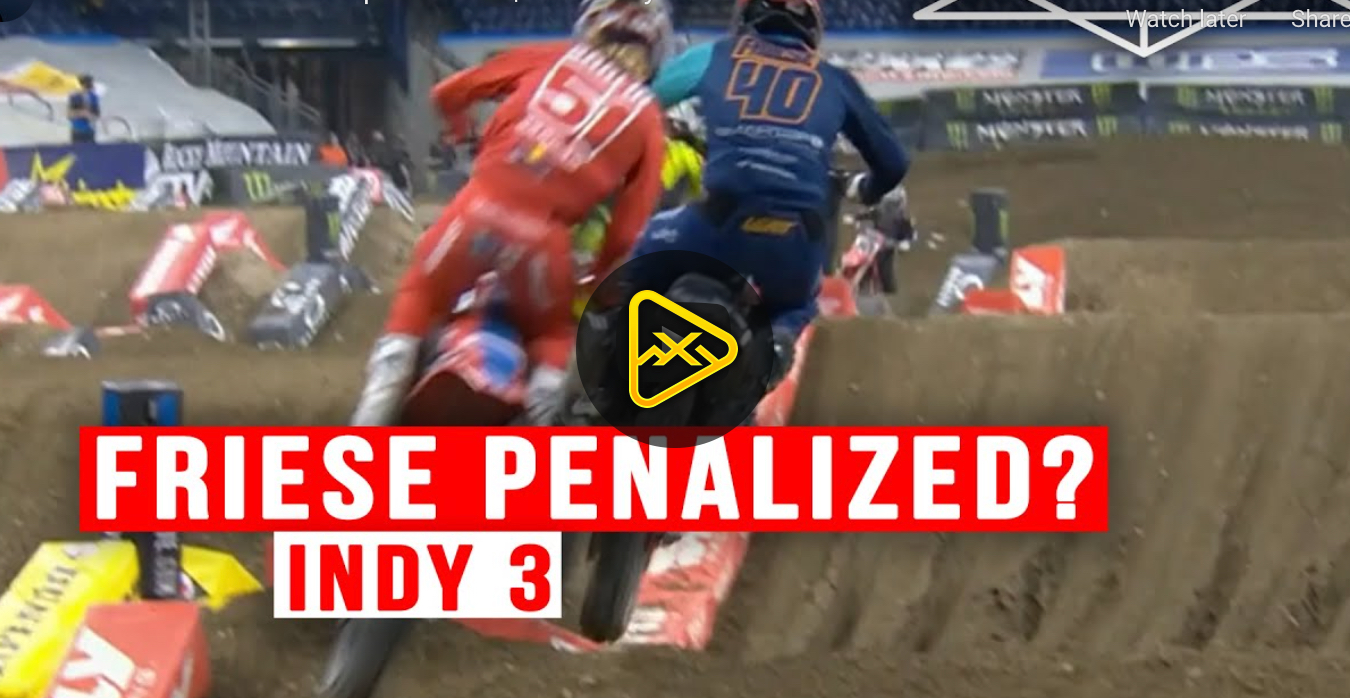 Should Vince Friese be Penalized?