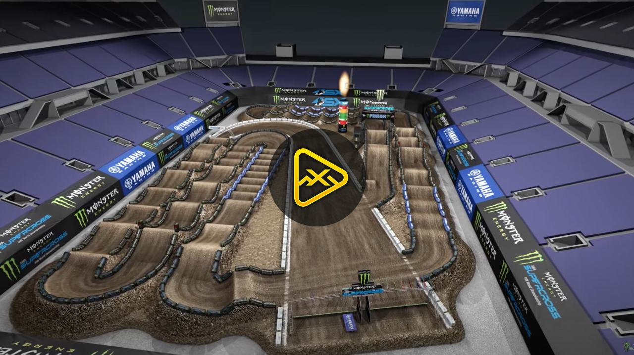 Animated Track Map – Rd 7 – 2021 Orlando 1 SX