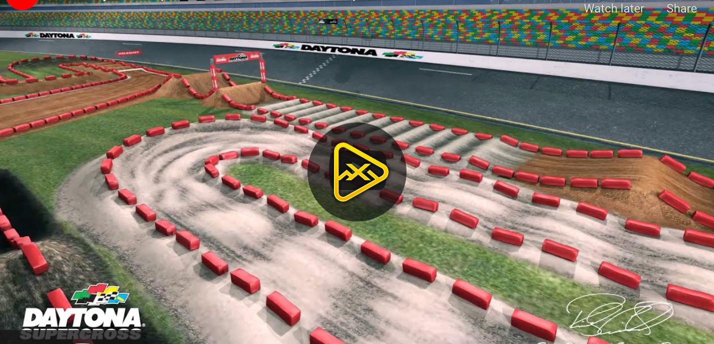2021 Daytona SX Animated Track Maps