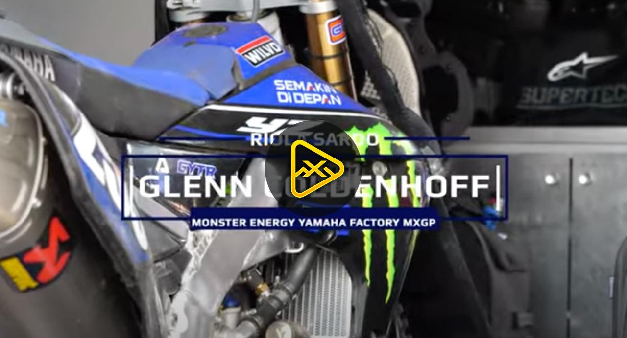 First Race on Yamaha for Glenn Coldenhoff
