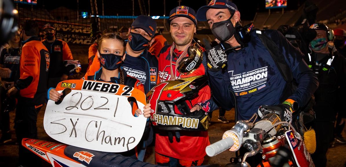 Cooper Webb's 2021 450SX Championship Photo Gallery