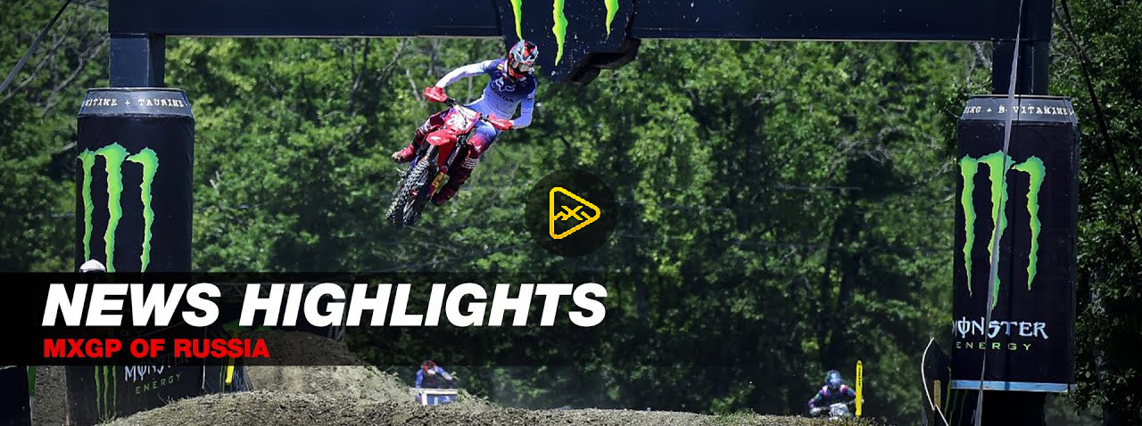 2021 MXGP of Russia Highlights